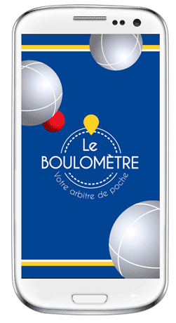 Le Boulomètre, l'application mobile gratuite qui simplifie la pétanque